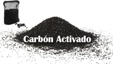 Photo of Activated Carbon in the Aquarium
